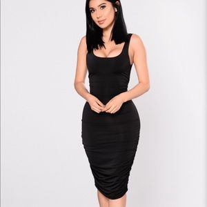 Fashion Nova Back It Up Dress